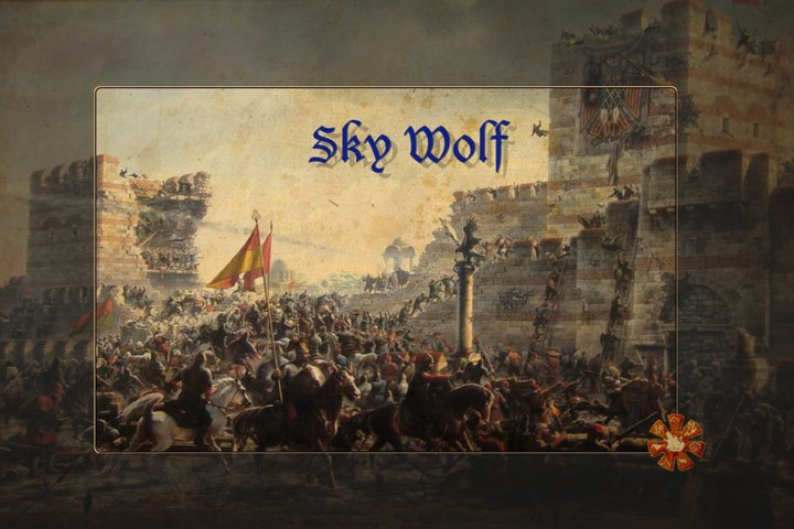 Sky Wolf Official Poster